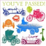You've Passed your Driving Test Greeting Card - Cars